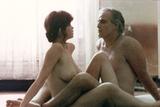 Last Tango in Paris 1972 Directed by Bernado Bertolucci Maria Schneider and Marlon Brando Fotografisk tryk