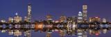 Skyline von Boston Poster