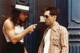 Taxi Driver 1976 Directed by Martin Scorsese Harvey Keitel and Robert De Niro. Fotografie-Druck