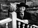 La Nuit Du Chasseur the Night of the Hunter De Charleslaughton Avec Robert Mitchum 1955 Photo