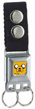 Adventure Time - Jake Seatbelt Buckle Keychain Keychain
