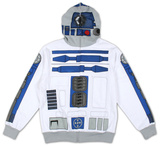 Zip Hoodie: Star Wars - I Am R-2 Shirts