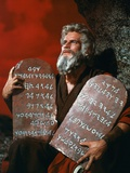 The Ten Commandments 1956 Directed by Cecil B. Demille Charlton Heston Photographic Print