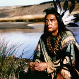 Dances with Wolves 1990 Directed by Kevin Costner Graham Greene Photo