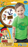 Jake And The Neverland Pirates Tattoo Bag Temporary Tattoos