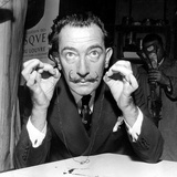 Salvador Dali 1956 Photo