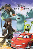 Disney Infinity (Group) Cartoon Posters