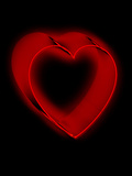 Neon Heart II Photographic Print by Graeme Montgomery