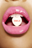 Smile Photographic Print by Arthur Belebeau