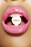 Sonríe Lámina fotográfica por Arthur Belebeau