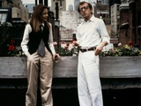 Annie Hall 1977 Directed by Woody Allen Diane Keaton and Woody Allen Photographic Print