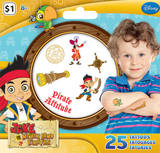 Jake And The Neverland Pirates Mini Tattoo Bag Temporary Tattoos