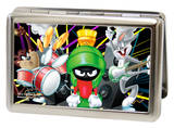 Looney Tunes - Band Large Business Card Holder Taz Martian Bugs Novelty