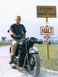 The Great Escape 1963 Directed by John Sturges Steve Mcqueen Fotoprint