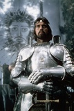 "1981 - British Actor Nigel Terry as King Arthur in the 1981 Film Excalibur"" Photo"