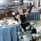 Breakfast at Tiffany's 1961 Directed by Blake Edwards Audrey Hepburn Fotografiskt tryck