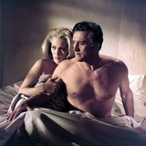 The Arrangement 1969 Directed by Elia Kazan Faye Dunaway and Kirk Douglas Photographic Print