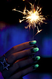 Sparklers Photographic Print by Arthur Belebeau