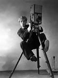 Le Cameraman (The Cameraman) De Edwardsedgwick Avec Buster Keaton 1928 Fotografie-Druck