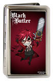 Black Butler - Chibi Grell Large Business Card Holder Novelty