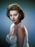 Sophia Loren in the 50's Photographic Print