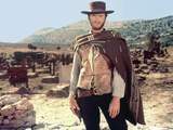 The Good, the Bad and the Ugly 1966 Directed by Sergio Leone Clint Eastwood - Fotografik Baskı