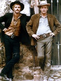 Butch Cassidy and the Sundance Kid 1969 Directed by George Roy H Robert Redford / Paul Newman Fotografisk tryk