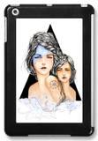 Aqua iPad Mini Case by Charmaine Olivia
