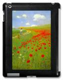 Mohnblumenfeld iPad Case von Paul von Szinyei-Merse