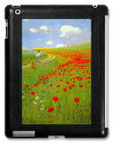 Field of Poppies iPad Case by Paul von Szinyei-Merse