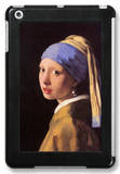 The Girl with the Pearl Earring iPad Mini Case by Jan Vermeer