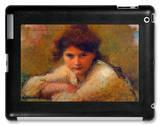 Three Women iPad Case by Jan Theodore Toorop