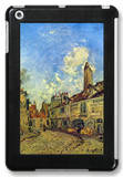 Street in Nevers iPad Mini Case by Johan-Barthold Jongkind