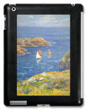 Calm Seas iPad Case by Henry Moret