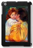 Maternal Kiss 1896 iPad Mini Case by Mary Cassatt