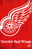 Detroit Red Wings Logo Print