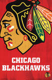 Chicago Blackhawks Logo Poster