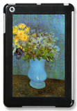 Vase with Lilacs Daisies and Anemones iPad Mini Case by Vincent van Gogh
