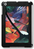 Deer in the Forest Ii iPad Mini Case by Franz Marc