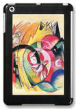 Colored Flowers iPad Mini Case by Franz Marc