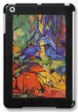 Deer in Forest iPad Mini Case by Franz Marc