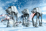 Star Wars - Hoth Battle Prints
