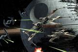 Star Wars - Death Star Battle Plakát