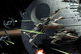Star Wars - Death Star Battle Poster