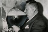 Auguste Maffrey Fransız Bira İçme Şampiyonası, 1955 Arşiv Fotoğraf Poster Baskısı - Photo