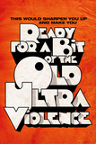 Film Quotes - Orange Poster