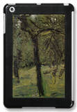 Sunny Meadow with Fruit Trees iPad Mini Case by Richard Gerstl