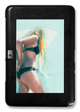 Surfs Up Galaxy Note 10.1 Case by Charmaine Olivia