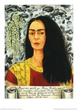 Self-Portait with Loose Hair, c.1947 Prints by Frida Kahlo