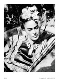 Portrait of Frida Kahlo Poster